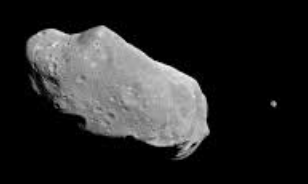asteroid with moon
