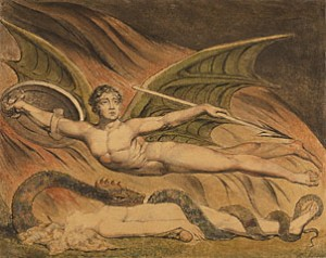 William Blake - Satan Exulting